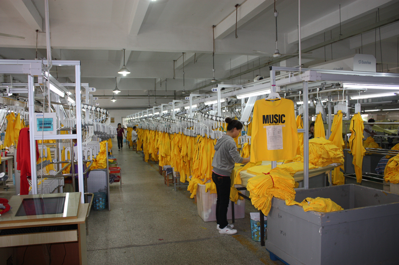 圣瑞思智能服装吊挂系统
