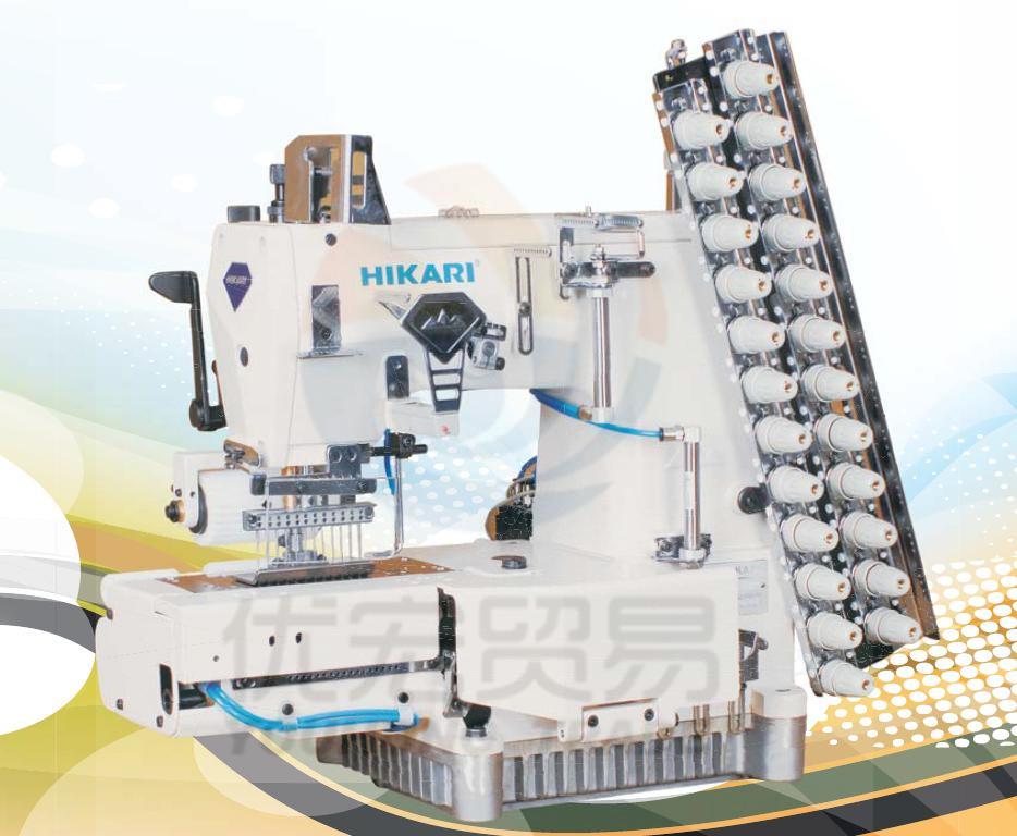 富山缝纫机电脑直驱多针机HW800-2