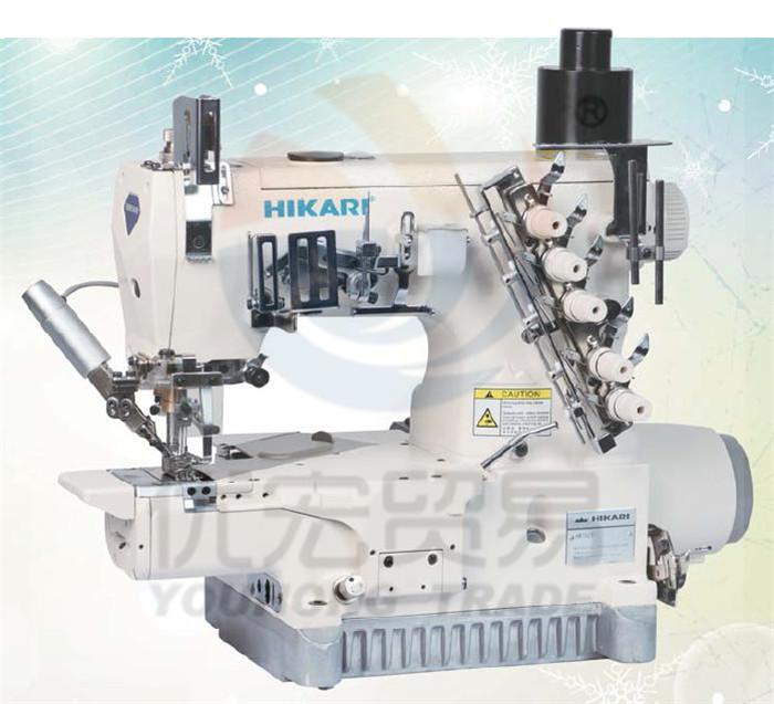 富山缝纫机电脑直驱筒式绷缝机782