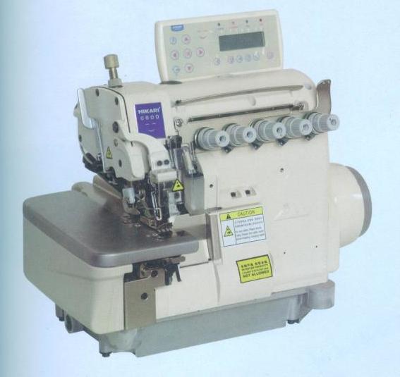 富山缝纫机电脑直驱全自动包缝机-带拖轮装置HX6816TA-04UTC2/AK/PP