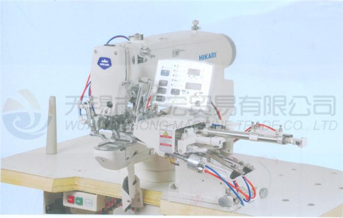 富山缝纫机电子带裤环缝缝纫机钉扣机HK-430D/105APW