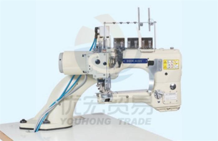 富山缝纫机HW 740TA系列电脑直驱曲臂型四针六线拼缝机
